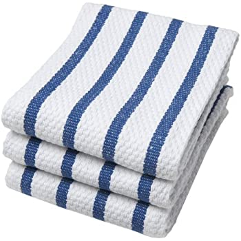 Merveilleux Now Designs Basketweave Kitchen Towel, Set Of 3, Royal Blue