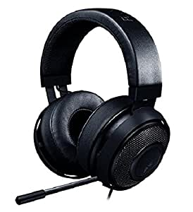 Razer Kraken Pro V2 - Noise Isolating Analog Black Gaming Headset with Retractable Mic - Compatible with PC, Xbox One & Playstation 4