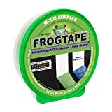 FrogTape 1358463 Multi-Surface Painting Tape, Green, 0.94-Inch x 60-Yard Roll