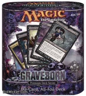 Magic the Gathering Card Game Premium Deck Series Graveborn by Wizards of the Coast