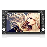 C¨¢mara trasera Incluy¨® 2015 nuevo modelo de 6.2 pulgadas de doble DIN 2 En el tablero de coches reproductor de DVD t¨¢ctil LCD de pantalla del monitor con DVD / CD / MP3 / MP4 / USB / SD / AM / FM / RDS Radio / Bluetooth / est¨¦reo / audio y de navegaci¨®n GPS SAT NAV papel para pared intercambio HD: 800 * 480 LCD + de Windows Win 8 UI Design gratuito Antena GPS + Free GPS Mapa + Free Backup Camera