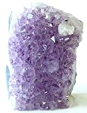 Class 3 Natural Purple Uruguay Amethyst Upright Standing Stone By JIC Gem: 3-4 Pounds