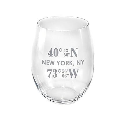 e3e6dce404f Amazon.com | Personalized Crystal Riedel Large Cabernet/Merlot ...
