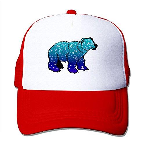 Mens Adjustable Hat Polar Bears