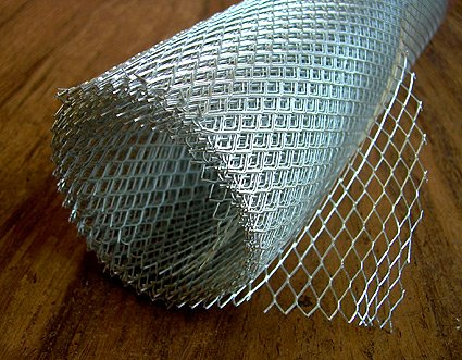 - Amaco WireForm Metal Mesh aluminum woven studio mesh - 3/8 in. pattern 5 ft. roll