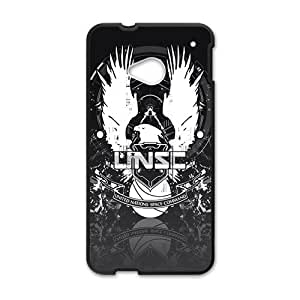 Happy Halo 4 Unsc Cell Phone Case for HTC One M7