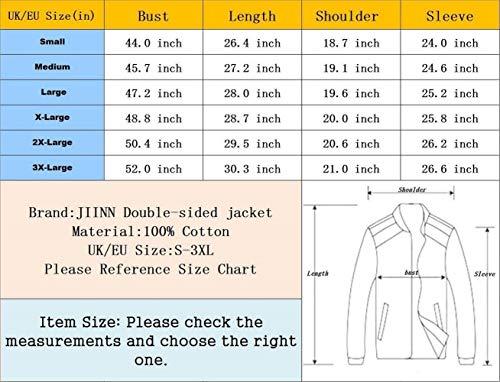color Pour Le Poches Vestes Veste Blau Latérales Vêtement D'extérieur Manches Hommes Bas Size 5 Glissière À 3xl Vers Extérieur Vintage Longues ttxXaw