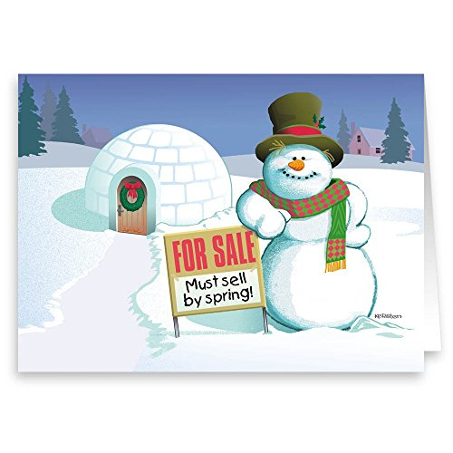 Amazon.com: Real Estate Holiday Card - Funny Realty Christmas Card ...