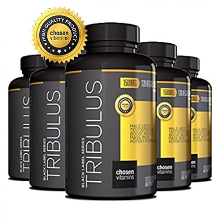 Amazon.com: Chosen Vitamins - High Quality Tribulus - 45% Steroidal Saponins - 1500MG Extreme Strength Bulgarian - Maximum Testosterone Booster - Increase ...