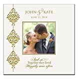 "Personalized Wedding or Anniversary Photo Album and so Together They Lived Happily Ever After "" Holds 200 4x6 Photos"