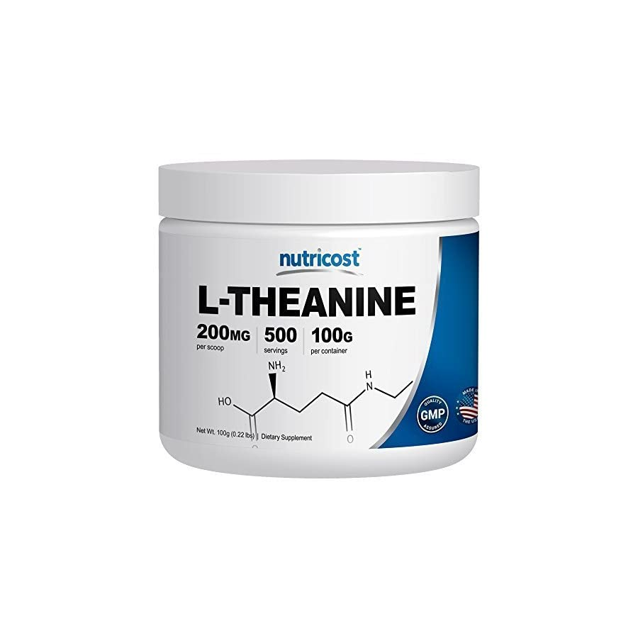 Nutricost Pure L Theanine Powder 100 Grams