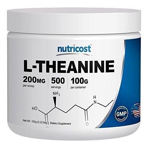Nutricost Pure L Theanine Powder 100 Grams
