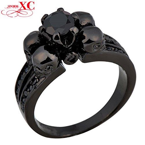 ayt-black-sapphire-vintage-skull-jewelry-women-men-party-ring-anel-black-gold-filled-finger-rings-an