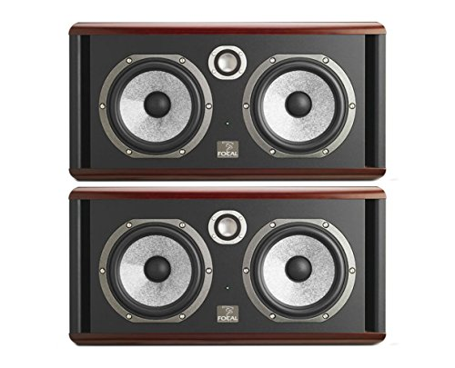 2x Focal Twin6 Be Active Speaker Pair Powered Studio Monitor Twin 6 PROAUDIOSTAR