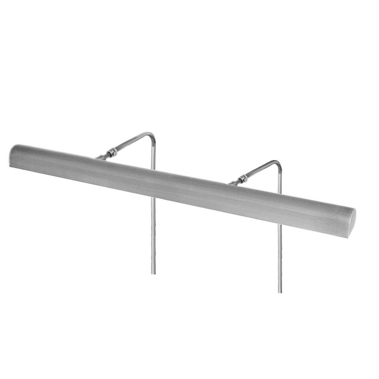 24'' Classic Picture Light with 8 Battery Pack - Satin Nickel