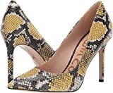 Sam Edelman Women's Hazel Tuscan Yellow Multi Exotic Snake Print Leather 9 W US