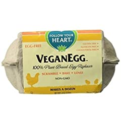 Delight in the taste and texture of eggs with this incredible new whole egg replacer! Enjoy the versatility you expect from eggs while positively impacting your health, the environment, and creating a more humane world.   Bake cookies, muffin...