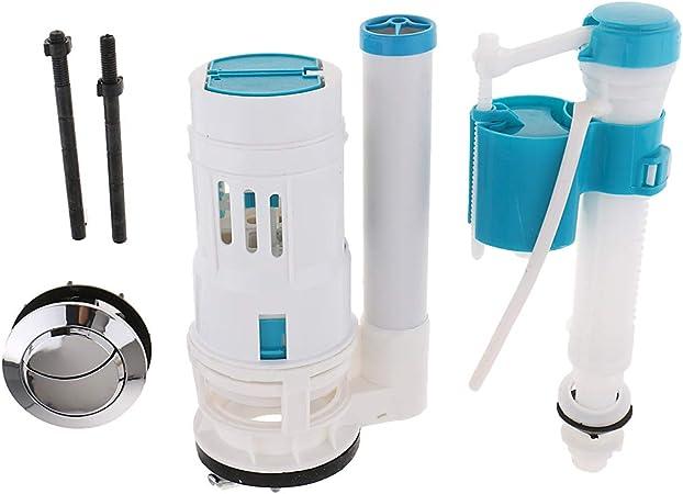 Adjustable Toilet Tank Water Saver Flapper Repair Part Supplies Blue La