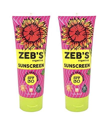 Zebs Organics Sunscreen Natural Organic product image