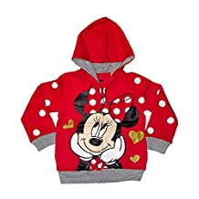 Disney Baby Mickey Mouse or Minnie Mouse Toddler Fashion Sweat Shirt Hoodie