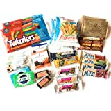 Anytime Snacks Care Package   Assorted Nutritious Bars, Veggie Straws & Others   for School, Adults, Work, Parties & Diet (25 Count)