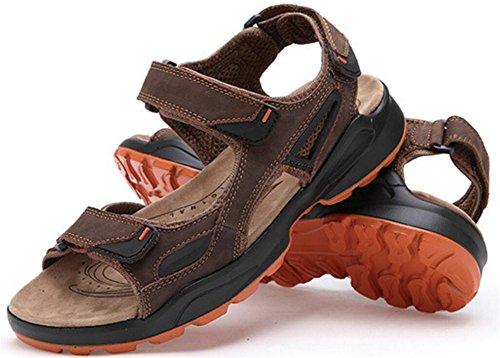 Heren Atletische Sandaal Outdoor Sport Sandaal Donkerbruin