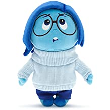 """Authentic Disney Store Inside Out Sadness Plush Doll: 11"""" Toy"""