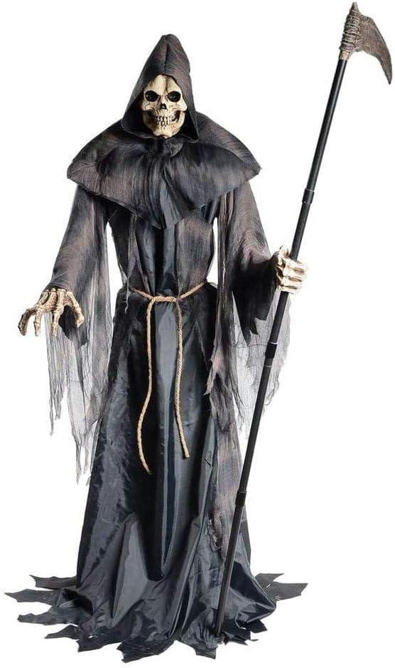 Halloween Deko Kaufen.Horror Shop Greifender Sensenmann Halloween Deko Figur Amazon De Spielzeug