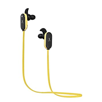 NeoJDX Wingz - Auriculares In Ear Bluetooth Inalámbricos para Ejercitar, Correr, Gimnasio - Resistentes