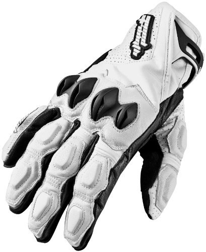 Speed and Strength Seven Sins Leather Gloves - X-Large/White