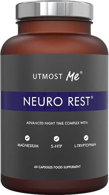 5-HTP + magnesio + melatonina natural para el sueño ...