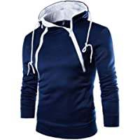 Pullover Herren Hoodie Winter feiXIANG Männer Sweatjacke Männer Outwear Kapuzenpullover Mantel Outwear mit Tasche