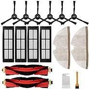 RONGJU Kit de accesorios para aspiradora Roborock S5 MAX S6 S50 E20 E25 E35 Xiaomi Mi Mijia Robótica, piezas d