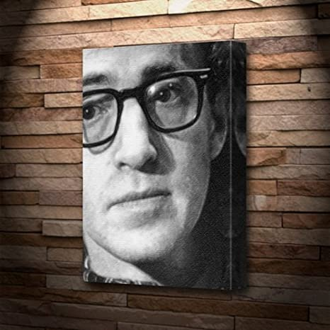 WOODY ALLEN - Canvas Print (LARGE A3 - Signed by the Artist ...