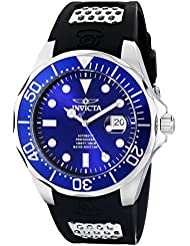Invicta Mens 11752 Pro Diver Stainless Steel Automatic Watch with Polyurethane Strap