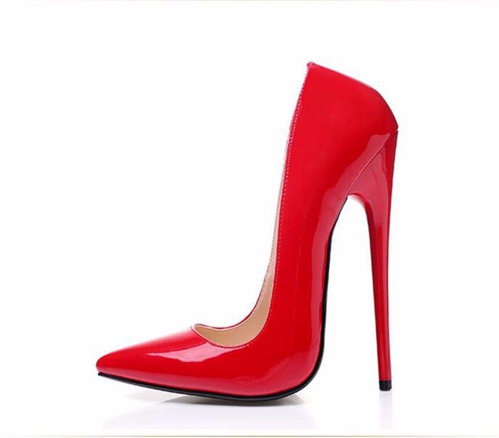 KPHY-Sexy High-Heel schuhe 16Cm 16Cm 16Cm Dünne Sohle Spitze Flachen Mund Einzelnen Schuh Night-Club Sich Schuhe Sexy Schuhe. 8df645