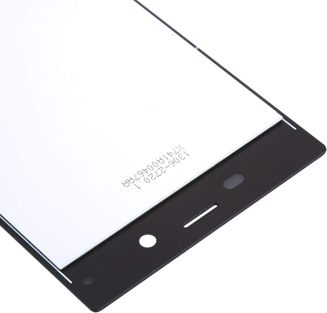 LCD Screen Mobile Phone and Digitizer Full Assembly for Sony Xperia XZs Color : Black Black
