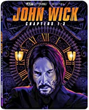 JOHN WICK 1-3 4K + DIGITAL [Blu-ray]