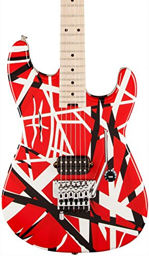 EVH Striped Series - Red, Black and White