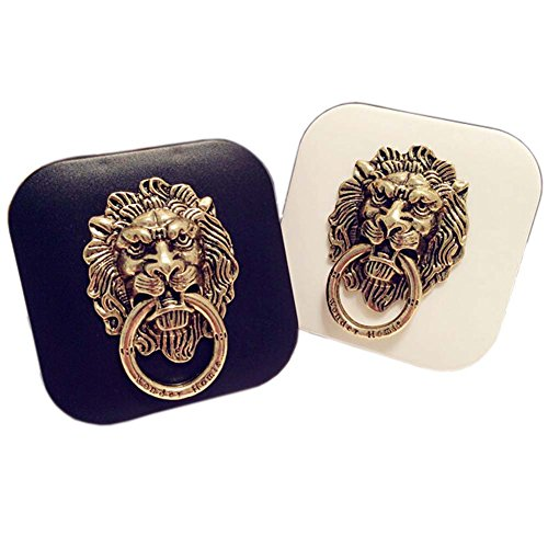 Style Lion Pattern Contact Lenses Case Nursing Holder, Random Color
