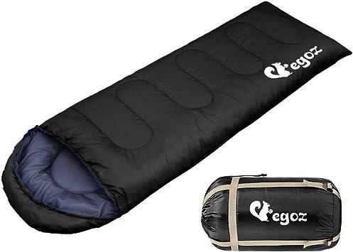 3SEASON SLEEPING BAG WATERPROOF SINGLE SUIT CASE CAMPING HIKING OUTDOOR 7n