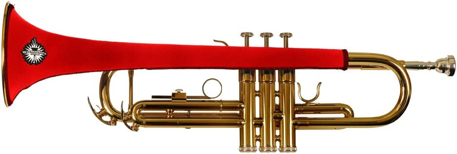 Warmahorn Neoprene Trumpet Protective Cover Red
