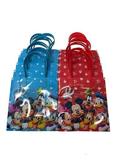 12 Disney Mickey Mouse And Friends Party Decoration Goody Favor Candy Bags -