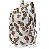School Backpack for Girls, Women Daypack College Bag Light Weight Canvas Travel Bag