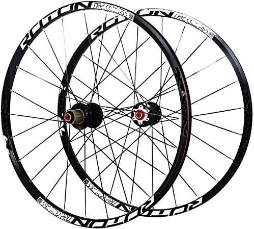 Knoijijuo Ruedas de Bicicleta de montaña par 26