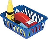 Classic Multiuse Plastic Storage Baskets / Drawer Organizer (4 Height 2'1/2 Inch Width 6 Inch Length 10'1/2 Inch)