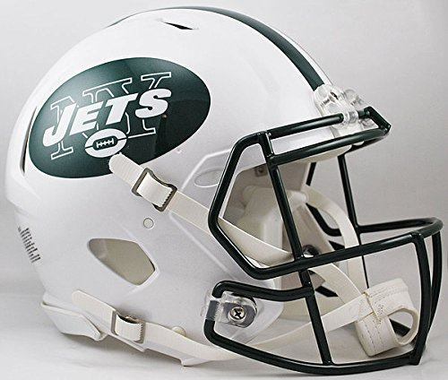Riddell NFL New York Jets Authentic Speed Full Size Football Helmet