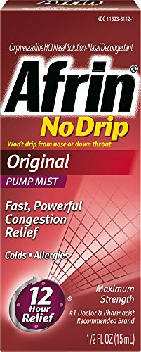 Afrin Nodrip Original Nasal Spray, 0.5 Ounce