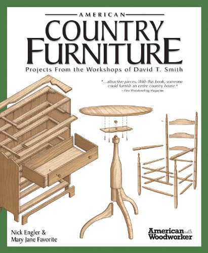 (American Country Furniture: Projects From the Workshops of David T. Smith (American Woodworker) )