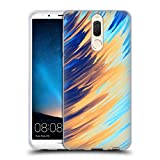 Official Andi Greyscale Two Sides of One Extreme Abstract Marbling Soft Gel Case Compatible for Huawei Mate 10 Lite
